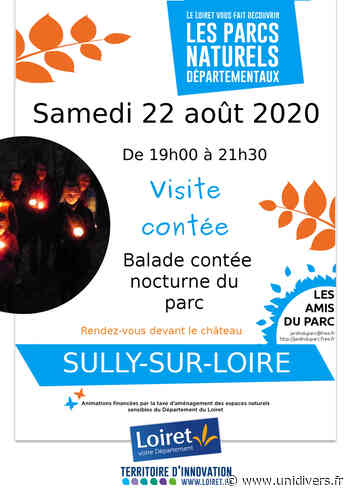 Balade contée nocturne du parc Parc de Sully-sur-Loire Sully-sur-Loire - Unidivers