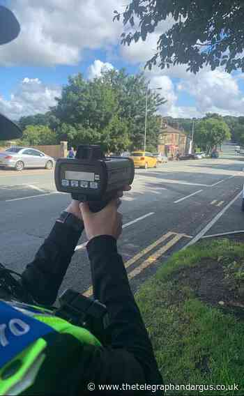 Speeding drivers caught in Bradford East