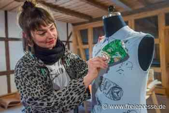 Upcycling: Schneeberger Designerin macht aus Müll nachhaltige Mode - Freie Presse
