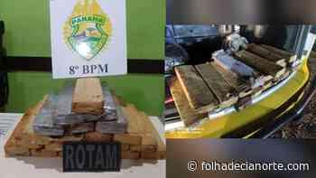 Ação conjunta entre PM de Cianorte e Paranavaí termina com apreensão de mais de 22 quilos de maconha - Folha De Cianorte