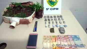 PM prende três homens por tráfico de drogas - Folha De Cianorte