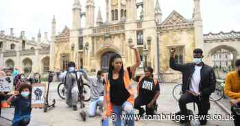 Live updates as Black Lives Matter protest held in Cambridge