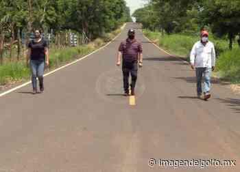 Concluyó asfaltado de la carretera Cerritos – Pajapan - Imagen del Golfo