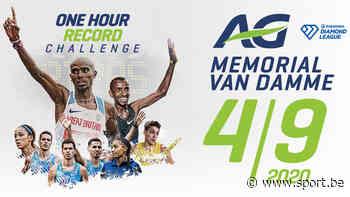 Bijzondere AG Memorial Van Damme wil uurrecords doen sneuvelen - Sport.be
