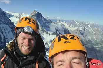 Kamp Waes-binken Aaron Vanneste en Matthieu Bonne bedwingen iconische Alpentop Eiger