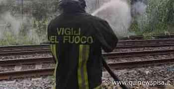 Principio di incendio, treni a rilento - Qui News Pisa