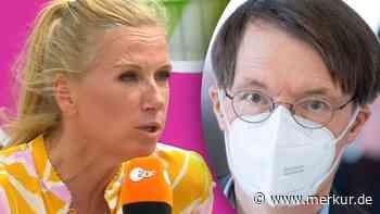 "Corona: ZDF-Fernsehgarten-Moderatorin ""Kiwi"" in Rage - Attacke gegen Lauterbach - merkur.de"