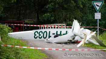 Zwei Segelflugzeuge nahe Dülmen kollidiert - zwei Tote