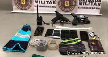 Brigada Militar de Cachoeirinha frustra roubo de carga e prende quadrilha - oreporter.net