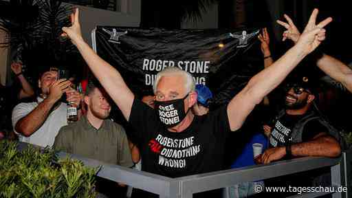 Polit-Berater Stone: Feierlaune von Trumps Gnaden