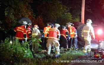 Port Colborne man dies at Wainfleet crash scene; impaired charge laid - WellandTribune.ca