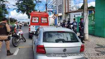 Ex-presidiário é morto a tiros dentro de carro em Feira de Santana - Acorda Cidade