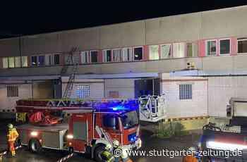Brand in Neuhausen auf den Fildern - Flüchtlingsunterkunft wegen brennender Matratze evakuiert - Stuttgarter Zeitung