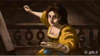 Il doodle di Google rende omaggio ad Artemisia Gentileschi, chi era la pittrice più coraggiosa - Giornale di Sicilia