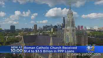 Roman Catholic Church Received Between $1.4 Billion and $3.5 Billion in PPP Loans