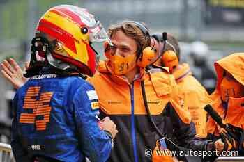 """Sainz hails McLaren engineer in """"stressful"""" Styrian GP qualifying"""