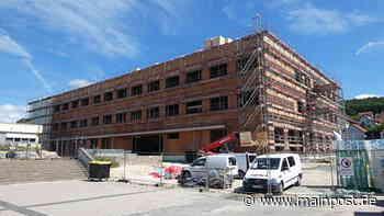 Ebern: Neubau des Friedrich-Rückert-Gymnasiums liegt im Zeitplan - Main-Post