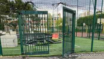 Mobilisation à Saint-Gratien contre la destruction d'un stade de quartier - Actufoot