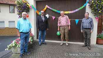 Trotz seiner 70 Jahre leistet Manfred Volkmuth viel für Stockheim - Main-Post