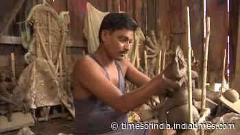 Assam: Idol makers staring at huge loss amid Covid-19 pandemic