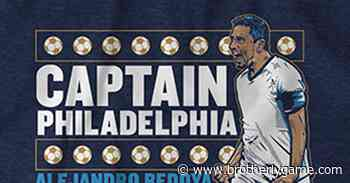 Bedoya 'Captain Philadelphia' t-shirt available for sale again - Brotherly Game