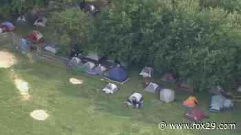 Philadelphia posts formal notice to close protest encampment by July 17 - FOX 29 News Philadelphia