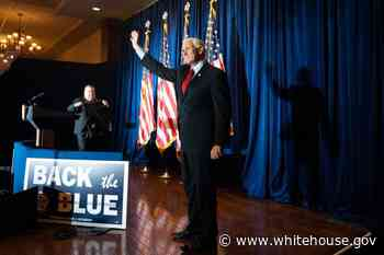 Remarks by Vice President Pence at Back the Blue Rally | Philadelphia, PA - Whitehouse.gov