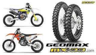 KTM und Husqvarna Motocross Modelle ab 2021 auf Dunlop Geomax MX-33 - myNETmoto.com/Motorradreifen