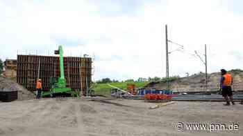 Neubau der Bahnbrücke nach Beelitz im Plan: Zehn Minuten schneller von Beelitz nach Potsdam - Potsdam-Mittelmark - Startseite - Potsdamer Neueste Nachrichten