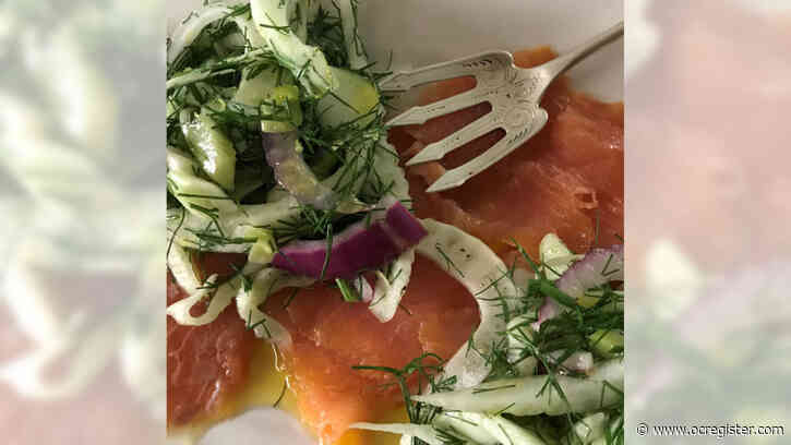 Recipe: Fresh fennel, with its licorice notes, pairs nicely with smoked salmon in this salad