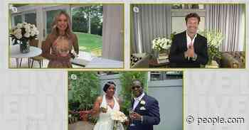 Kelly Ripa and Ryan Seacrest Throw Virtual Wedding for Essential Worker Couple amid COVID-19 - PEOPLE