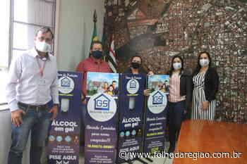 Prefeitura de Birigui recebe mais quatro totens para oferecer álcool em gel - Folha da Região