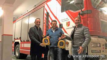 Zwei Defibrillatoren für die Freiwillige Feuerwehr Sonthofen - kreisbote.de