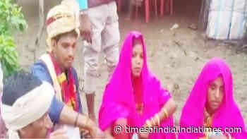 Bizarre! Man marries girlfriend, bride chosen by his family in same 'mandap'