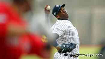 Yanks closer Chapman tests positive for virus
