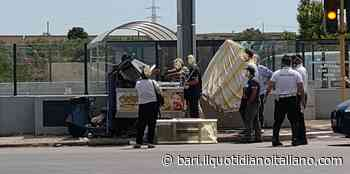 Bari, tamponato alla guida dopo il lavoro: treruote distrutto. Grave il conducente - Il Quotidiano Italiano - Bari