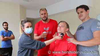 Handball-Bundesligist MT Melsungen ist mit Fotoshootings in die Saisonvorbereitung gestartet - hersfelder-zeitung.de