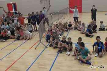 """Eerste bubbelsportkamp in Ardooie is succes: """"Goede leerschool voor later"""""""