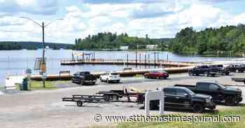Elliot Lake boardwalk and fishing pier reopen - St. Thomas Times-Journal