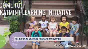Child care centers prepare to open with new requirements - News 12 Bronx