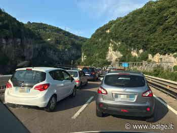 Valsugana, code verso Pergine sul viadotto dei Crozi - l'Adige - Quotidiano indipendente del Trentino Alto Adige