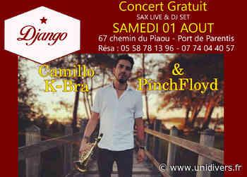 Les Concerts du Django en aout samedi 1 août 2020 - Unidivers