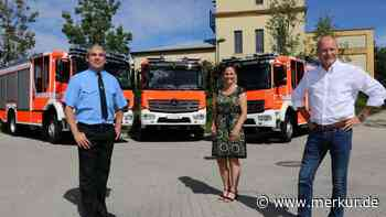 Drei neue Feuerwehrfahrzeuge für 1,1 Millionen - merkur.de