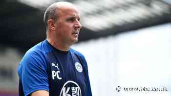 Wigan administration: Paul Cook on 'the worst, toughest week of my career' - BBC News