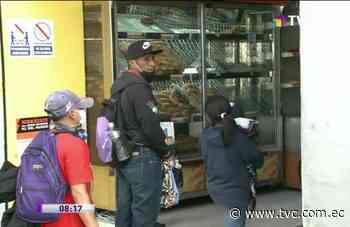 Desalojan comercio informal de la calle Rocafuerte - tvc.com.ec