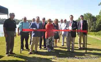Ribbon-cutting ceremony celebrates completion of work on Langley Pond's dam - Aiken Standard