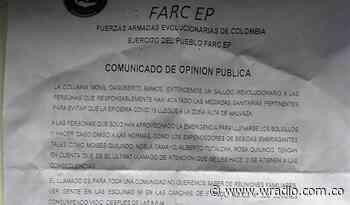 Supuestas disidencias de las Farc amenazan a comerciantes en Cauca - W Radio