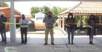 Entregan techumbre en telesecundaria de Tepalcingo - Diario de Morelos
