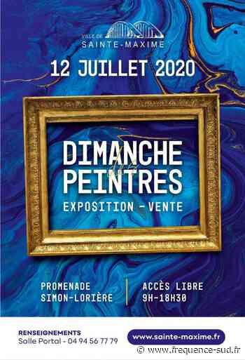 Les peintres ont leur dimanche à Sainte Maxime - Frequence-Sud.fr
