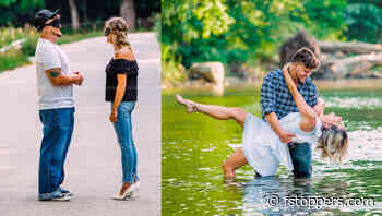 This Photographer Set up a Blind Date Photoshoot: Subjects Meet for the First Time and Pose Together